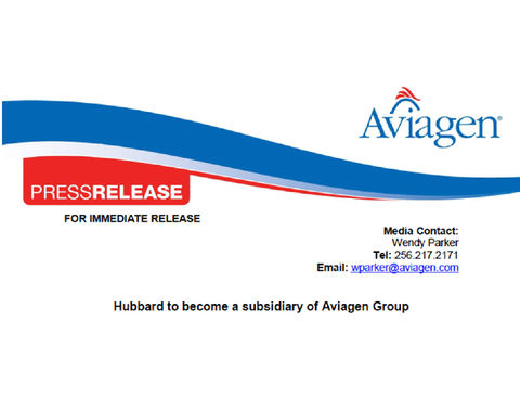 BlocActu_PressRelease Aviagen ENG