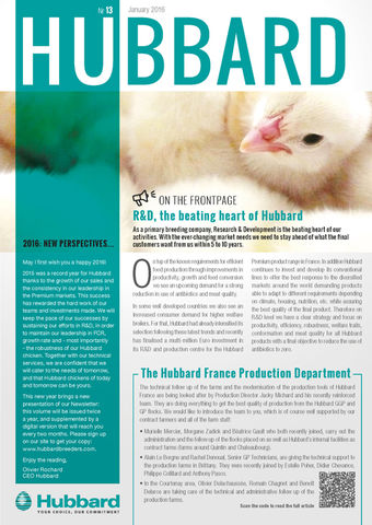 HUBBARD NEWSLETTER NR 13 ENGLISH JAN2016